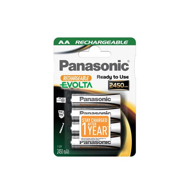 Camera battery 1,2V 2450mAh for Panasonic Lumix DMC-LS2