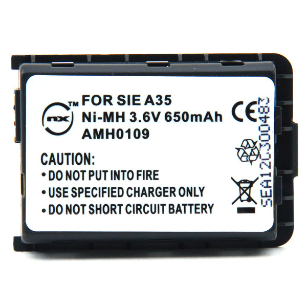 Mobile phone, PDA battery 3,6V 650mAh for Siemens A35 / A36