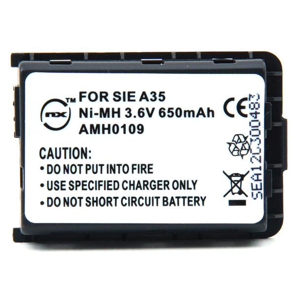 Mobile phone, PDA battery 3,6V 650mAh for Siemens A40