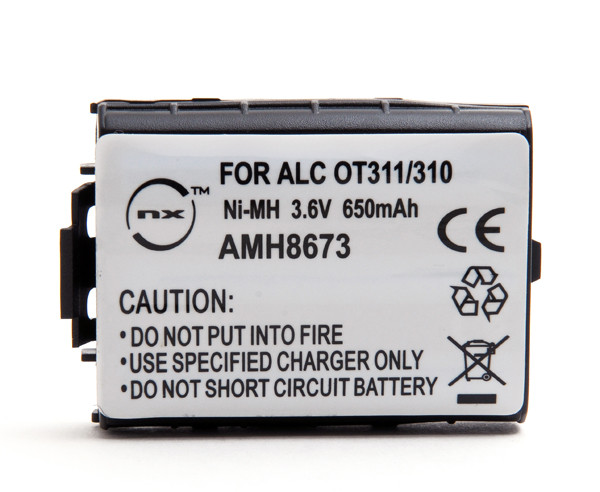 Mobile phone, PDA battery 3,6V 650mAh for Alcatel One Touch 311