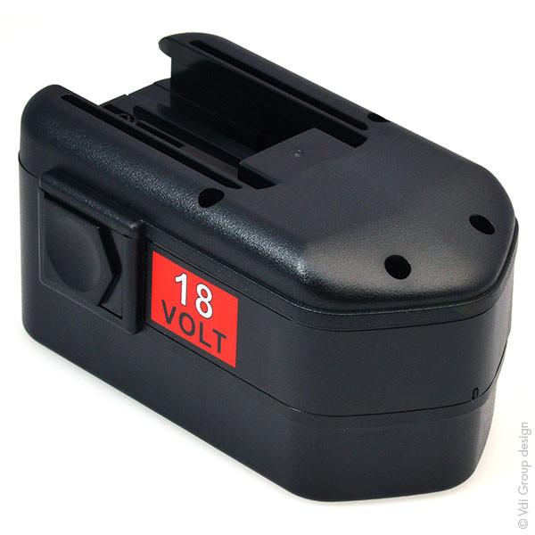 Power tool battery 18V 3Ah for AEG 18 V BSB 18STX NimH