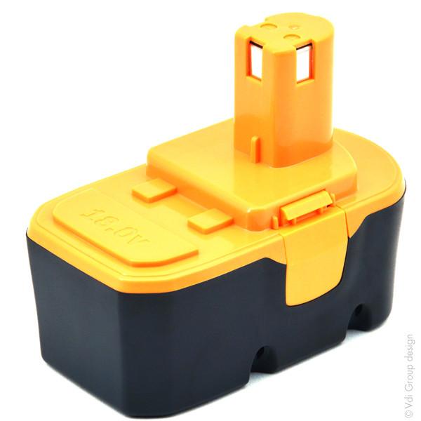 Power tool battery 18V 3Ah for Ryobi 18 V CRA-180M NiMh
