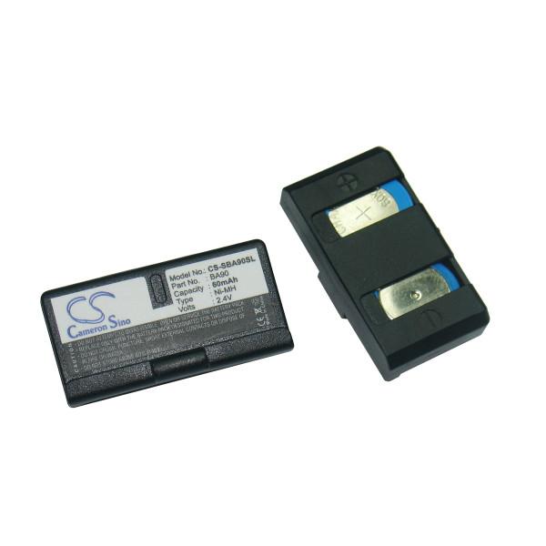 Audio headset battery 2,4V 60mAh for Sennheiser HDE1030