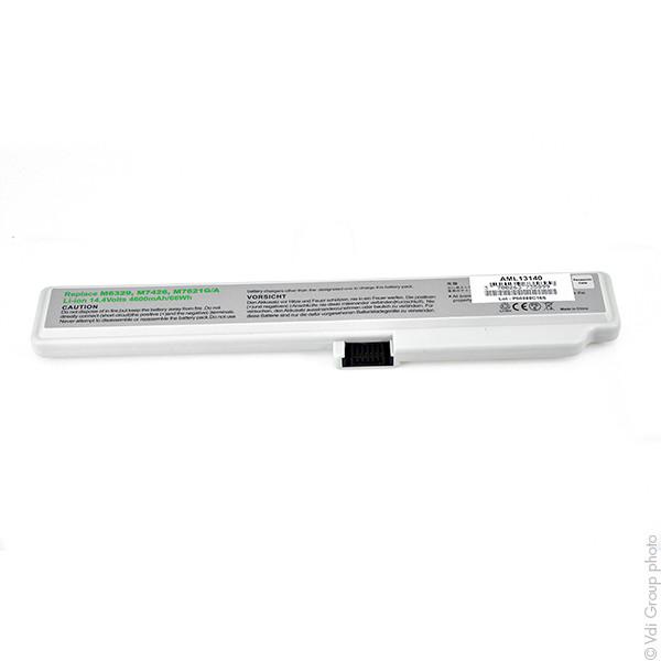 Laptop battery 14,4V 4000mAh for Apple iBook G3 M7721LL/A