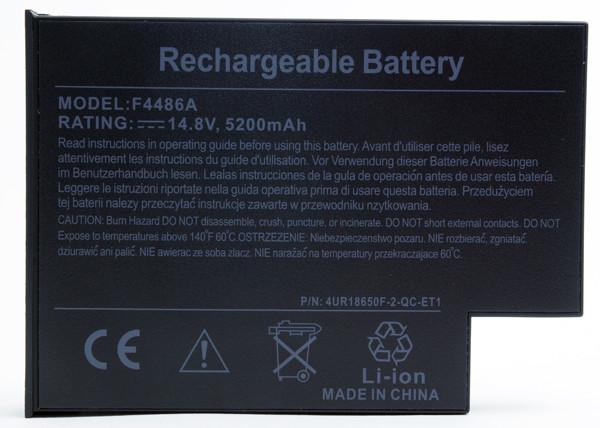 Laptop battery 14,8V 4600mAh for Acer Aspire 1312LC