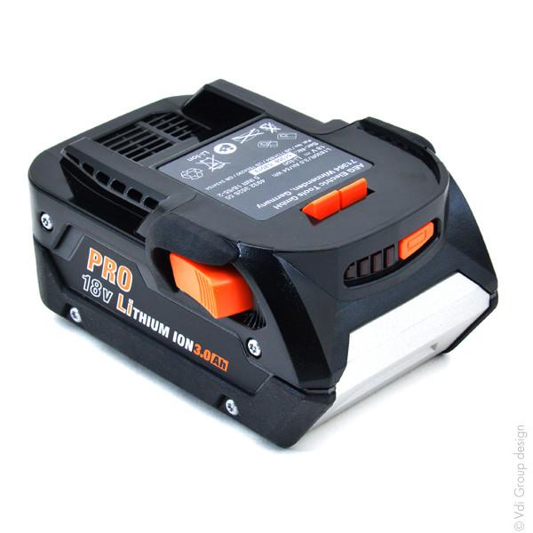 Power tool battery 18V 3Ah for AEG 18 V BSB18 G2 LI Lithium-Ion
