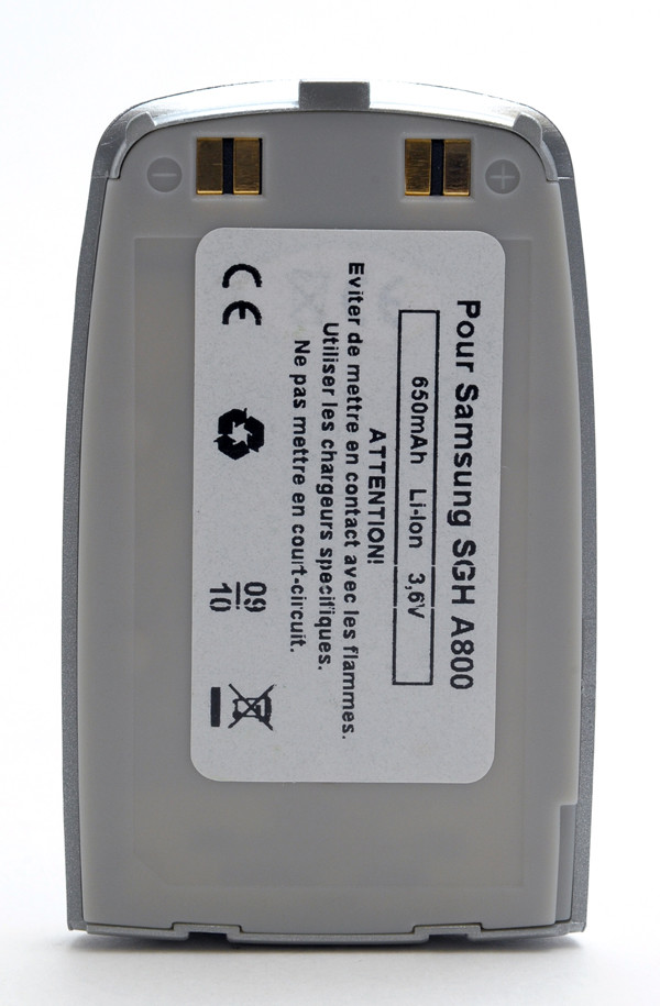 Mobile phone, PDA battery 3,7V 750mAh for Samsung SGH-A800