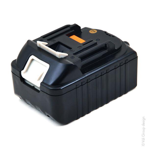 Power tool battery 18V 3Ah for Makita 18 V BTD144RFE Lithium-Ion