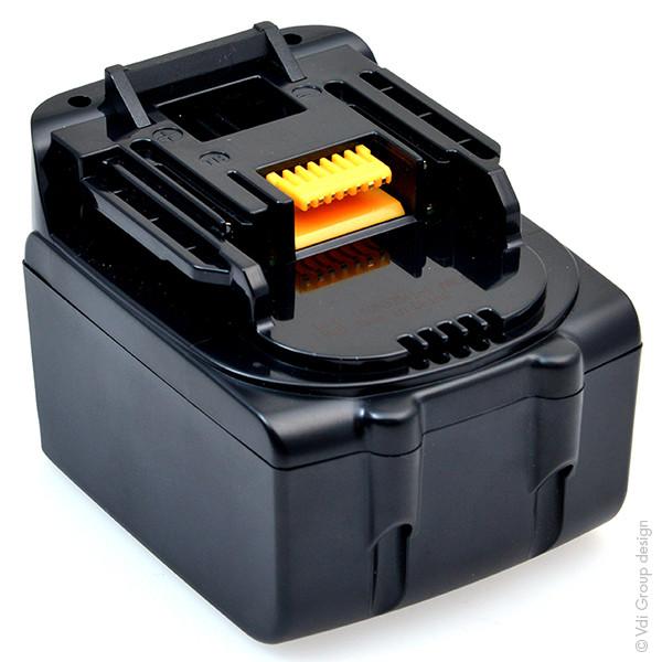 Power tool battery 14,4V 4Ah for Makita 14.4 V BDA340RFE Lithium-Ion