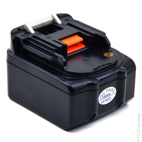 Power tool battery 14,4V 3Ah for Makita 14.4 V BTD130FRFE Lithium-Ion