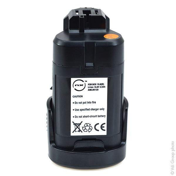 Power tool battery 10,8V 2Ah for Bosch 10.8 V PMF 10.8 LI Lithium-Ion