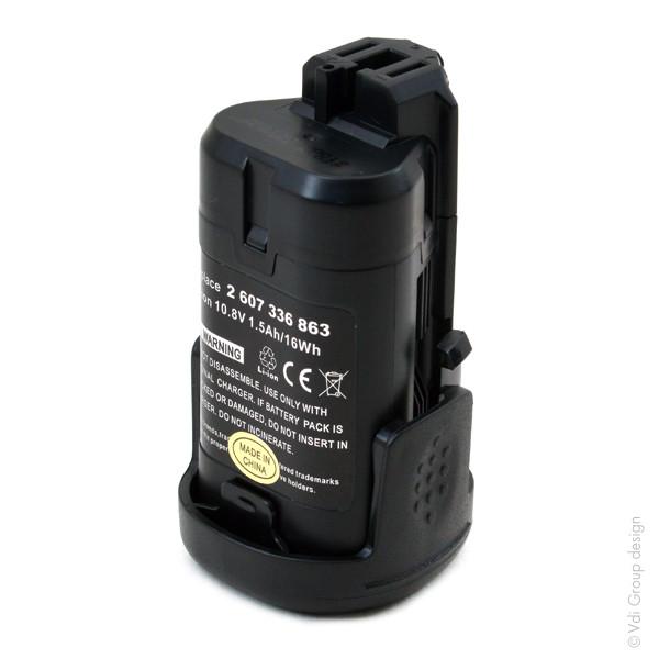 Power tool battery 10,8V 1500mAh for Bosch 10.8 V PMF 10.8 LI Lithium-Ion