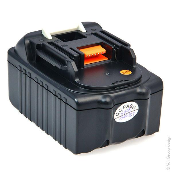 Power tool battery 18V 4Ah for Makita 18 V BTD144RFE Lithium-Ion