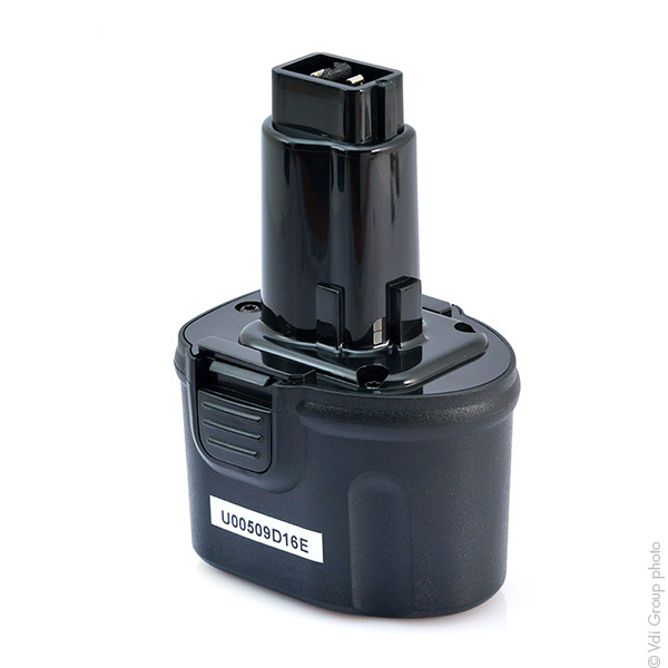 Power tool battery 7,2V 1,5Ah for Dewalt 7.2 V DW920K Nicd