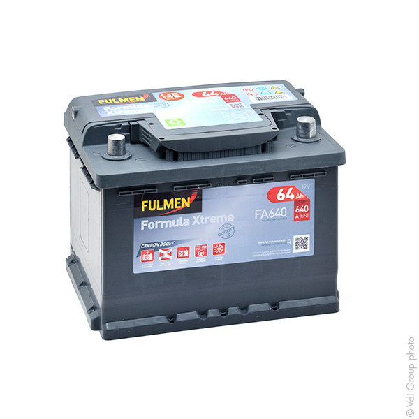 Car battery 12V 64Ah for Seat Leon 1.8 20V, 4. 4x4. Cupra, R, T, TSI, Turbo 11/1999 -