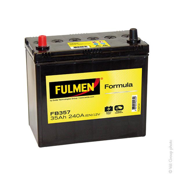 Car battery 12V 35Ah for Nissan Pixo 1 06/2009 -