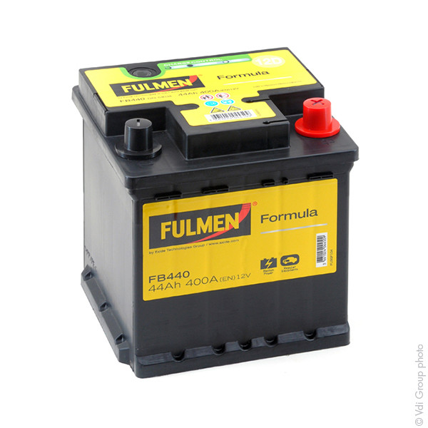 Car battery 12V 44Ah for Fiat Punto 1.2 16V, 60. 80. Natural, Power 09/1999 -