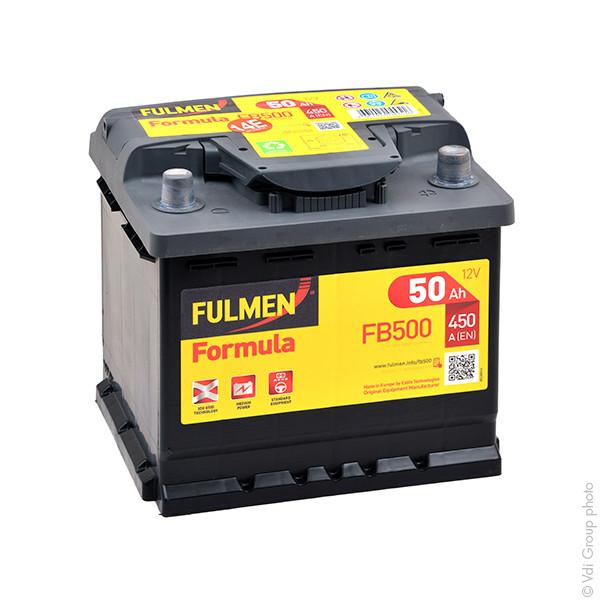 Car battery 12V 50Ah for Honda CR-V III 2.0 i-VTEC 01/2007 -