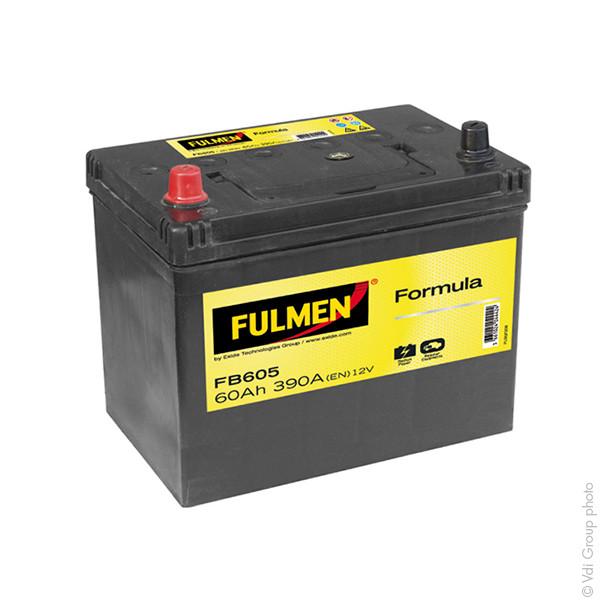 Car battery 12V 60Ah for Mitsubishi Galant III 2.0 ECi, GLS, Turbo 06/1984 - 12/1987