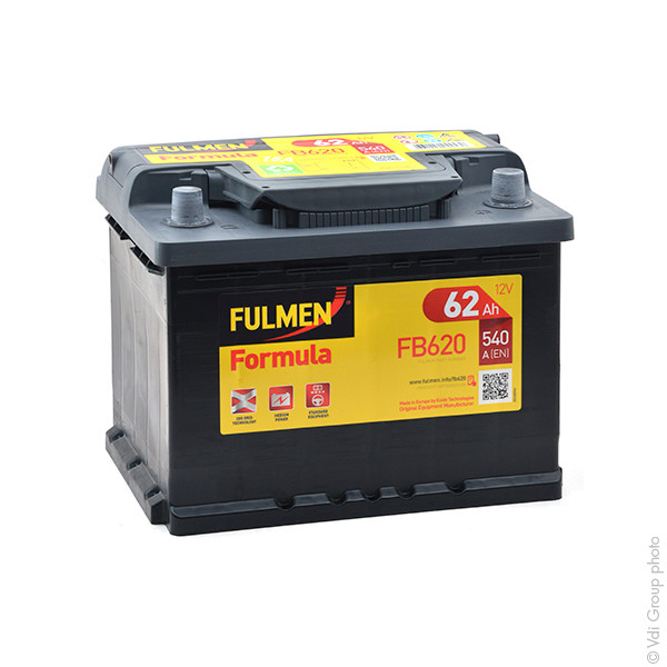 Car battery 12V 62Ah for Seat Leon 1.8 20V, 4. 4x4. Cupra, R, T, TSI, Turbo 11/1999 -