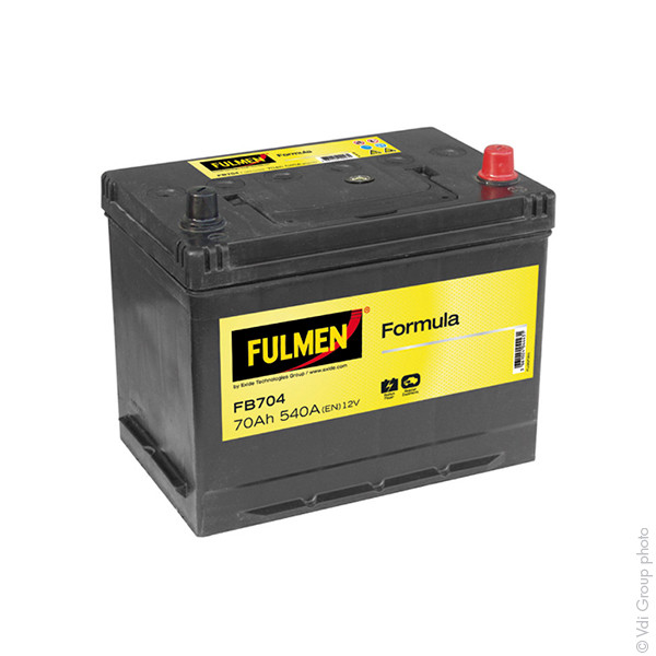 Car battery 12V 70Ah for Kia Pro Cee'D (Diesel) 2.0 CRDi 02/2008 -