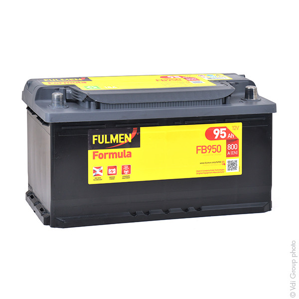 Car battery 12V 95Ah for Mercedes-Benz M-Class (W163) (Diesel) ML 270 CDI 12/1999 - 06/2005