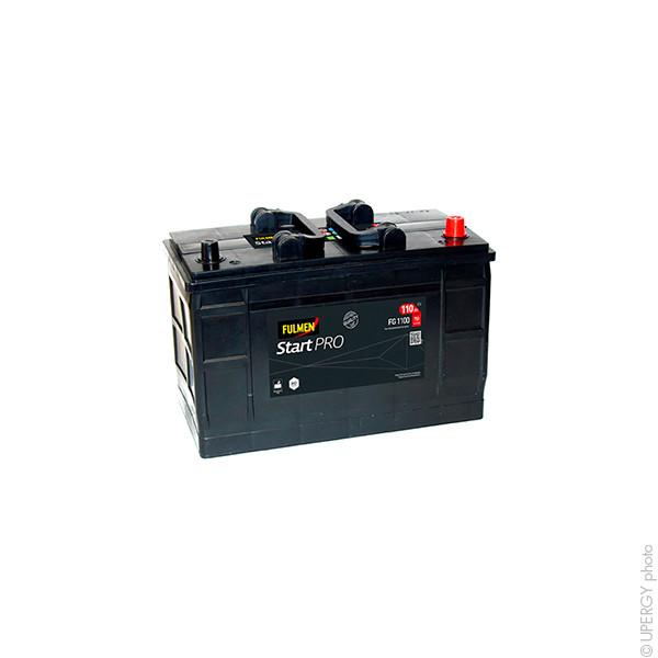 Car battery 12V 110Ah for Land Rover Range Rover II (Diesel) 2.5 TD 07/1994 - 03/2002