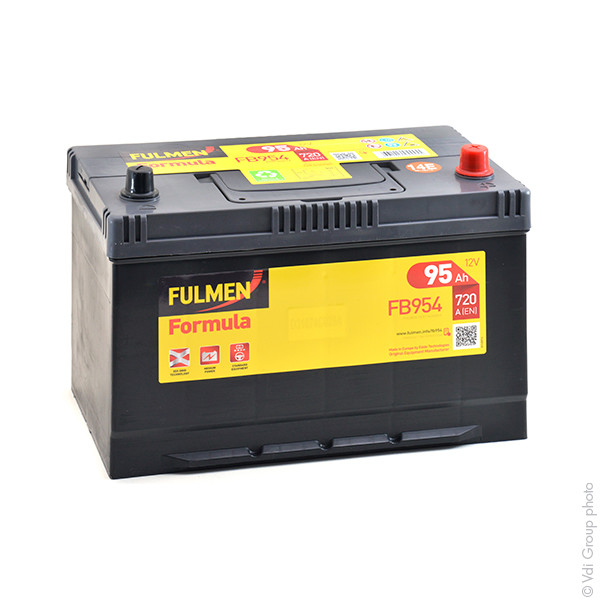 Car battery 12V 95Ah for Mitsubishi L 200 (Diesel) 2.5 DI-D 11/2005 -