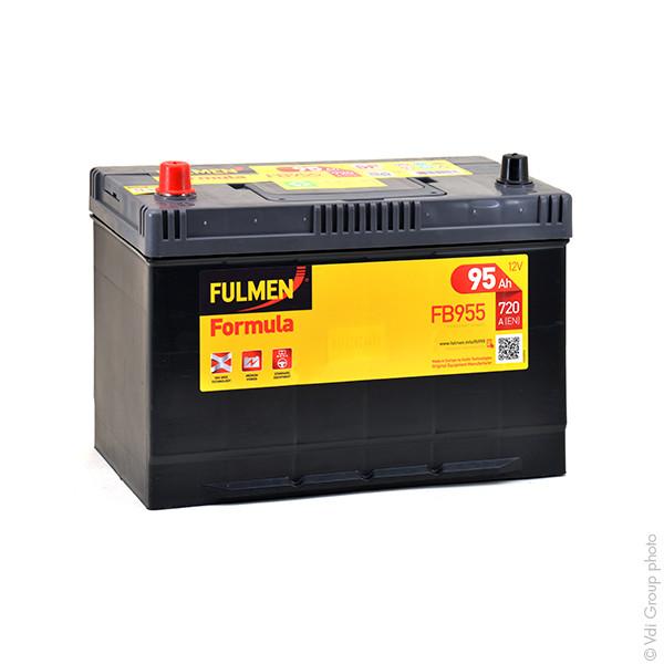 Car battery 12V 95Ah for Nissan Terrano II (Diesel) 2.7 4WD, TD, TDi 02/1993 -