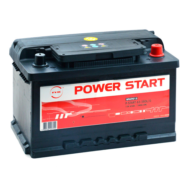 Car battery 12V 65Ah for Alfa Romeo 156 2.5 24V, V6 09/1997 - 05/2006