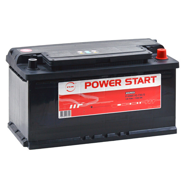 Car battery 12V 92Ah for Mercedes-Benz M-Class (W163) (Diesel) ML 270 CDI 12/1999 - 06/2005