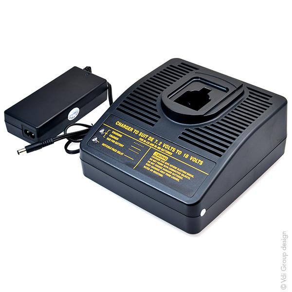 Power tool charger for Dewalt 12 V DW915 (Flash Light)
