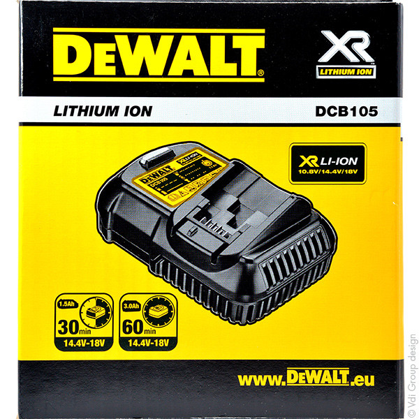 Power tool charger for Dewalt 18 V DCD785C2