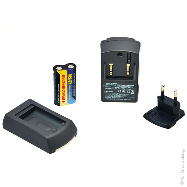 Chargers and/or Charging Plates for Digital Cameras and Camcorders for Casio QV-3000UX