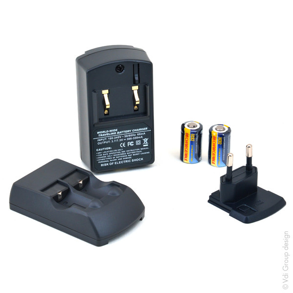 Chargers and/or Charging Plates for Digital Cameras and Camcorders for Canon Ixus M-1