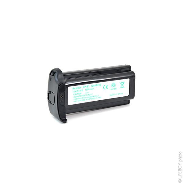 Camera battery 12V 1650mAh for Canon EOS 1DS