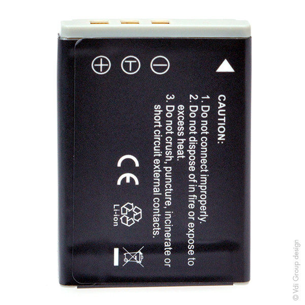 Camera battery 3,7V 700mAh for Aldi Slimline X5