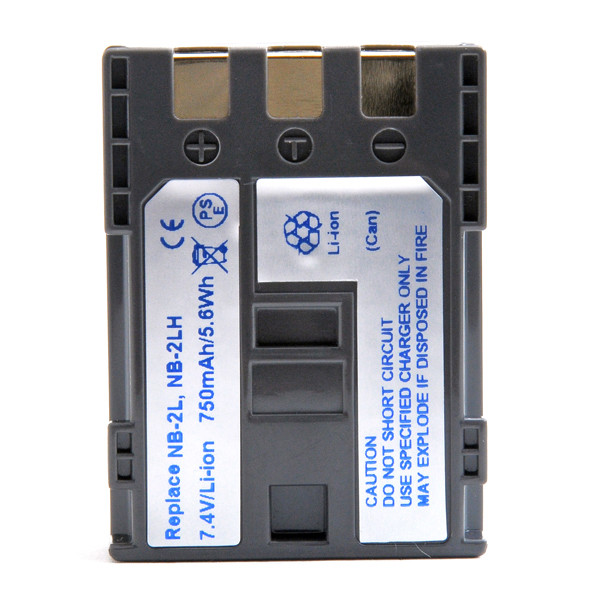 Camcorder battery 7,4V 750mAh for Canon MD160