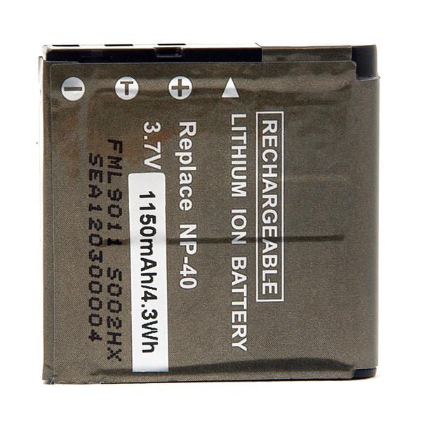 Camera battery 3,7V 950mAh for Casio Exilim Zoom EX-Z57