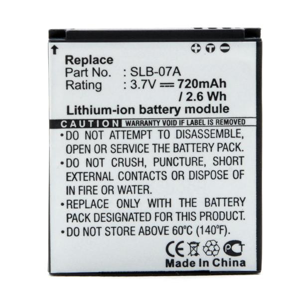 Camera battery 3,7V 720mAh for Samsung ST600