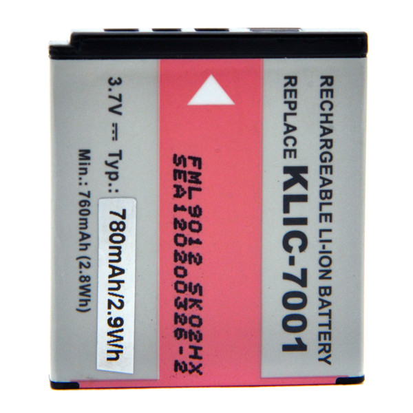 Camera battery 3,7V 700mAh for Kodak EasyShare M1063