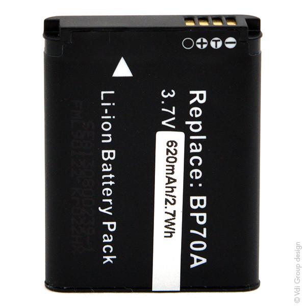 Camera battery 3,7V 620mAh for Samsung ST60