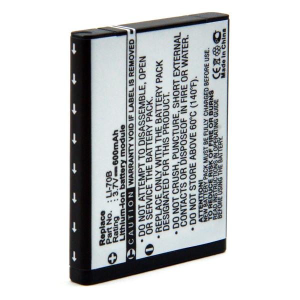 Camera battery 3,7V 600mAh for Olympus VG-150