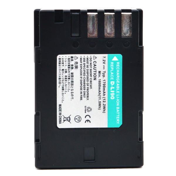 Camera battery 7,2V 1700mAh for Pentax K-5 II