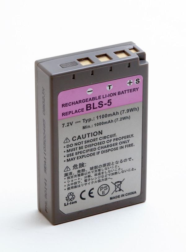 Camera battery 7,2V 900mAh for Olympus E-PL1S
