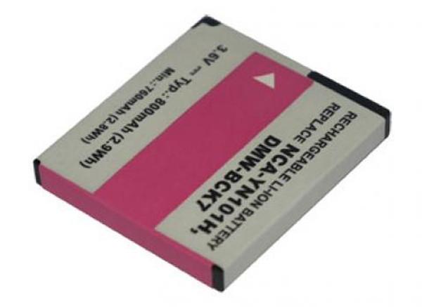 Camera battery 3,6V 600mAh for Panasonic Lumix DMC-FS22