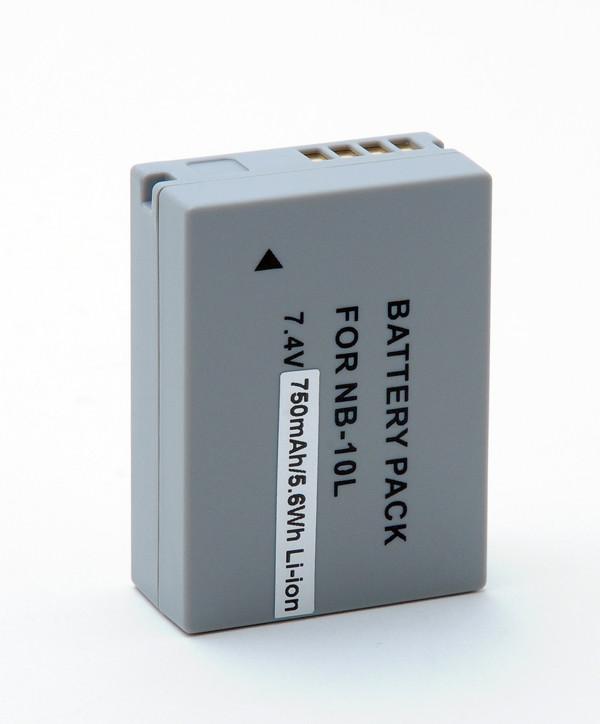 Camera battery 7,4V 750mAh for Canon PowerShot SX40 HS