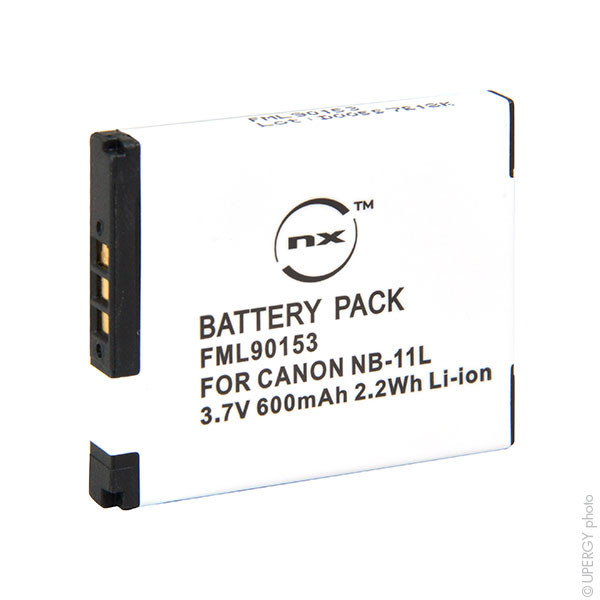 Camera battery 3,6V 580mAh for Canon PowerShot A4000 IS