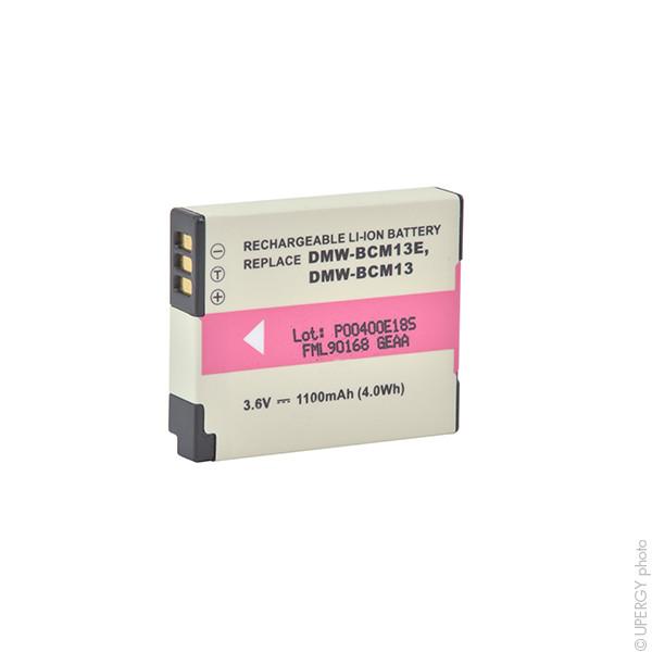 Camera battery 3,6V 950mAh for Panasonic Lumix-DMC-TZ40K