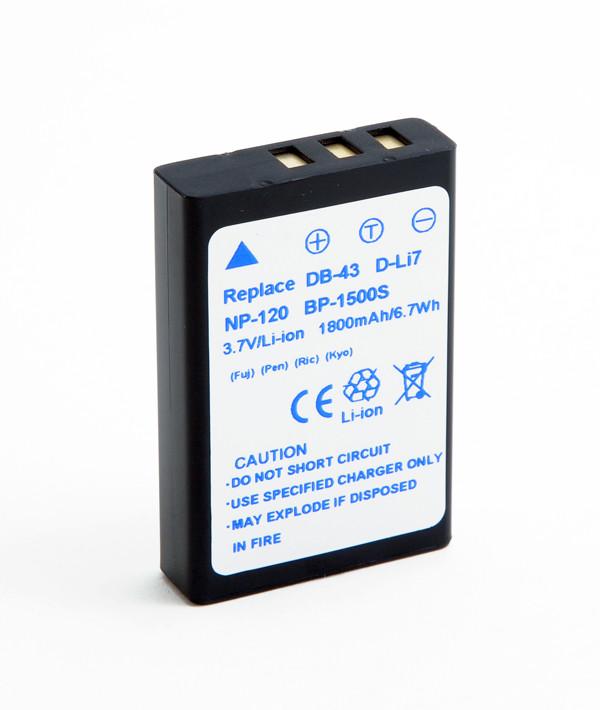 Camera battery 3,7V 1800mAh for Ricoh Caplio 500G Wide